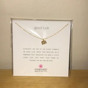 🐘 Dogeared Good Luck Necklace 🐘